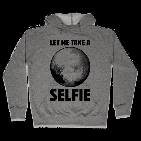 Pluto Selfie Hooded Sweatshirt