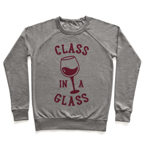 Class In A Glass Pullover