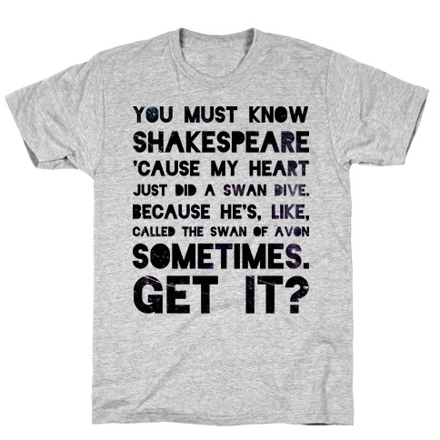 You Must Know Shakespeare T-Shirt