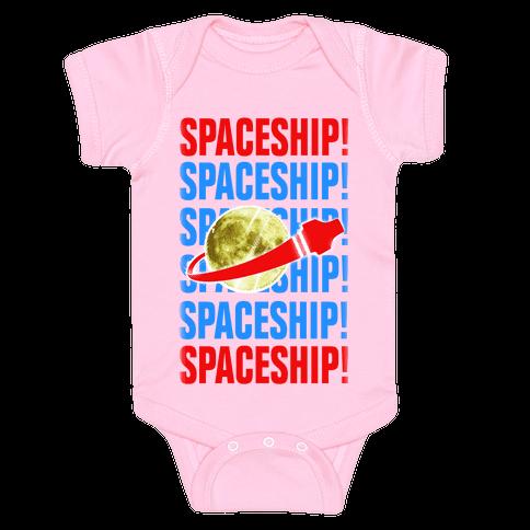 Spaceship! Baby Onesy