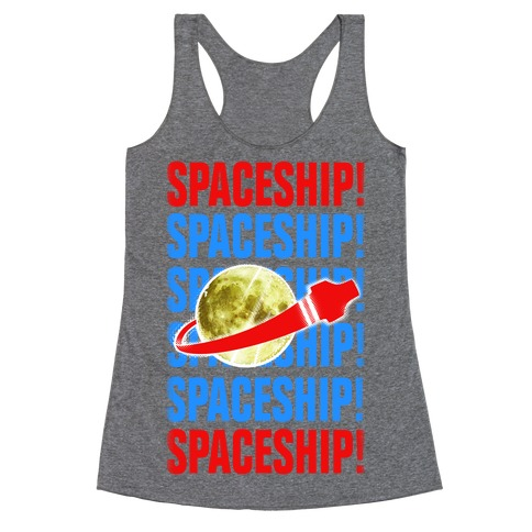 Spaceship! Racerback Tank Top
