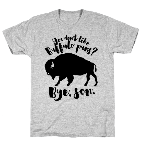 Buffalo Puns Mens T-Shirt