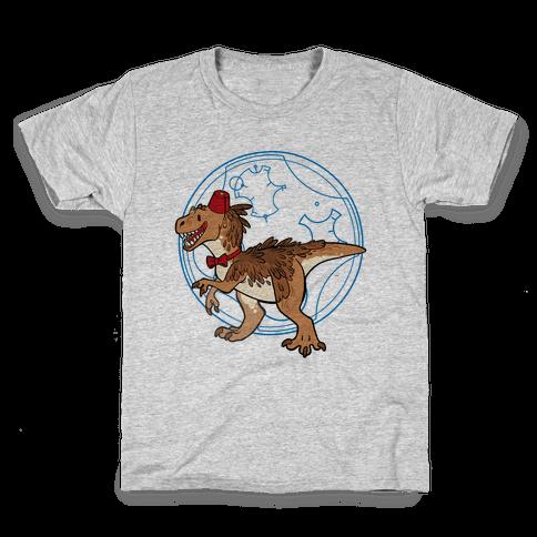 Dinosaur Doctor Who Kids T-Shirt