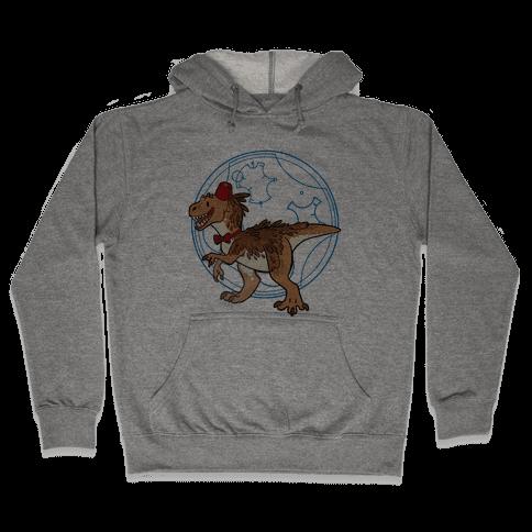 Dinosaur Doctor Who Hooded Sweatshirt