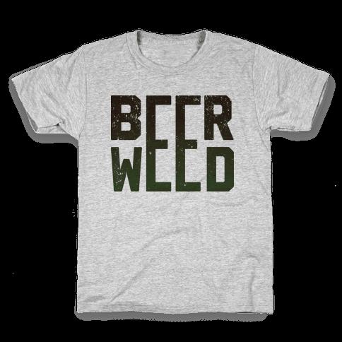 Beer & Weed Kids T-Shirt