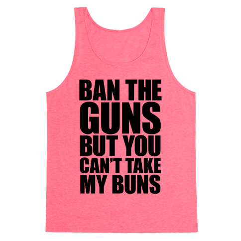 Save the Buns Tank Top