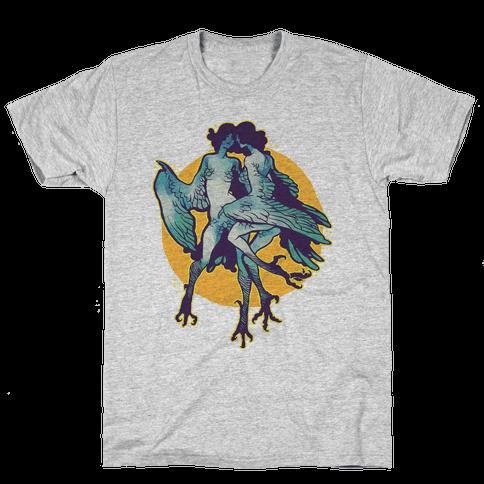 Harpy Monster Girls Mens T-Shirt