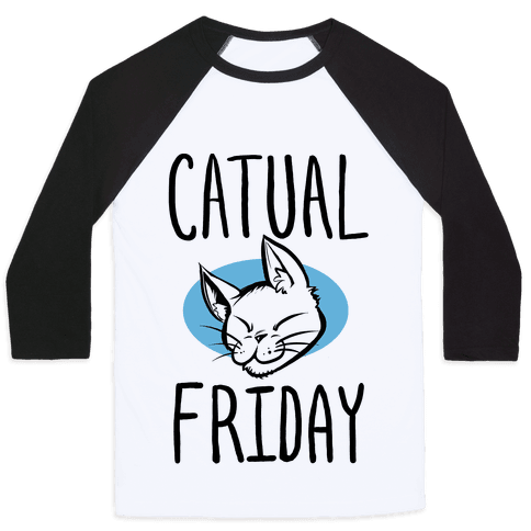 Catual Friday Baseball Tee