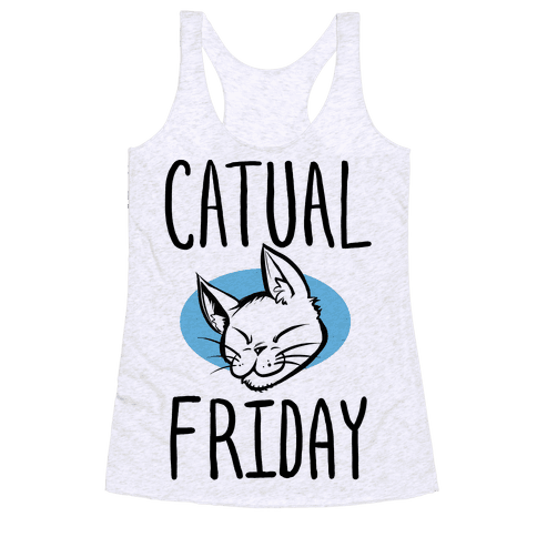 Catual Friday Racerback Tank Top