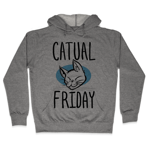 Catual Friday Hooded Sweatshirt