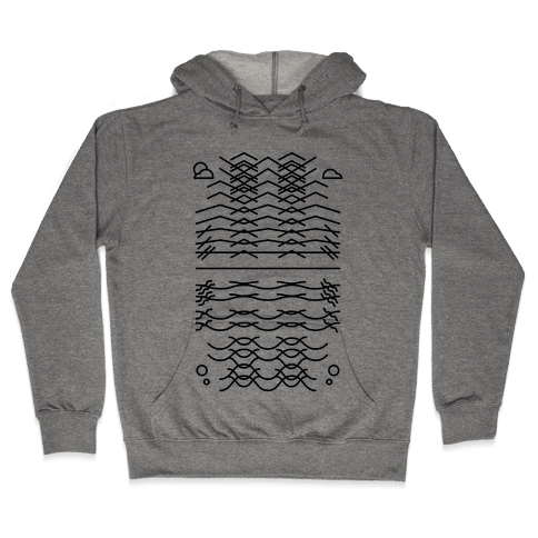 Land And Sea Hooded Sweatshirt