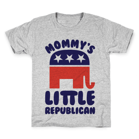Mommy's Little Republican Kids T-Shirt