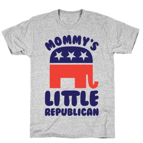 Mommy's Little Republican T-Shirt