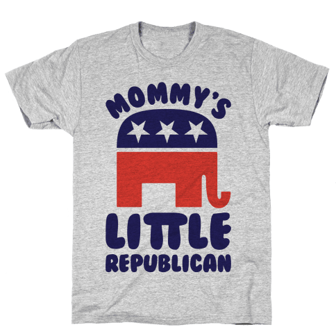 Mommy's Little Republican Mens T-Shirt