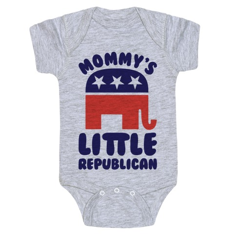 Mommy's Little Republican Baby Onesy