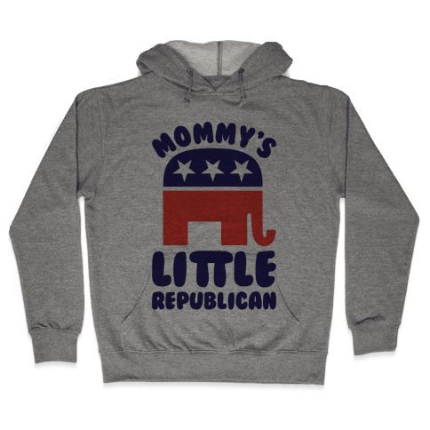 Mommy's Little Republican Hooded Sweatshirt