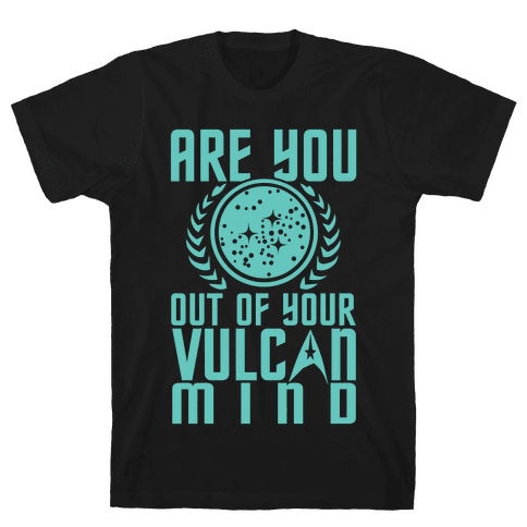 Vulcan Life Mens T-Shirt