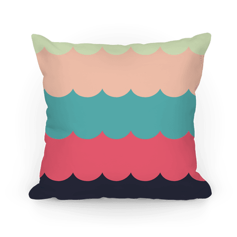 Color Waves Pillow