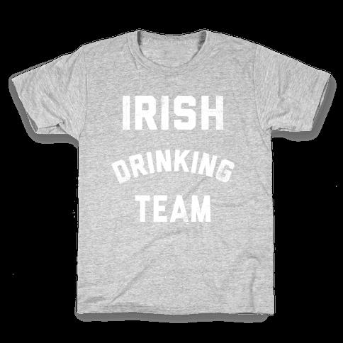 Irish Drinking Team Kids T-Shirt