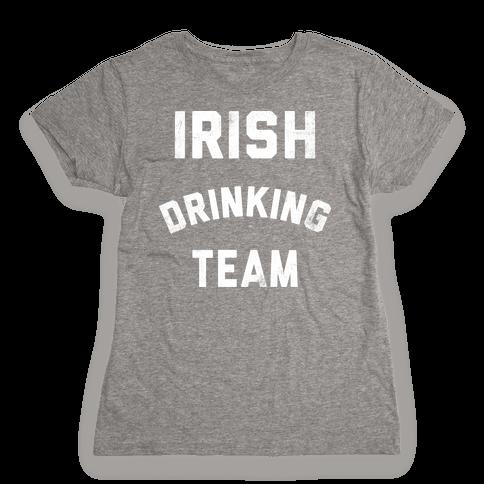 Irish Drinking Team Womens T-Shirt