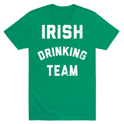 Irish Drinking Team Mens T-Shirt