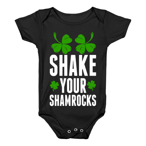 Shake Your Shamrocks Baby Onesy