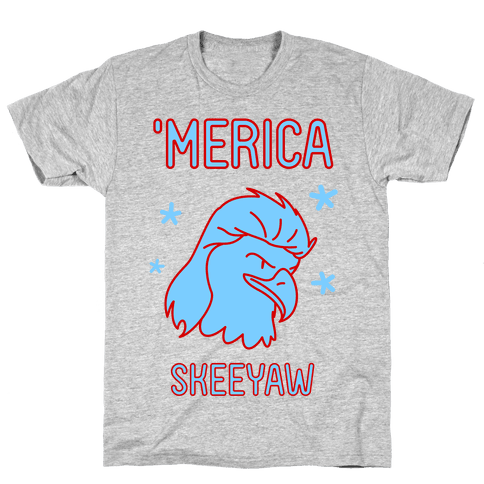Merican Eagle Mens T-Shirt