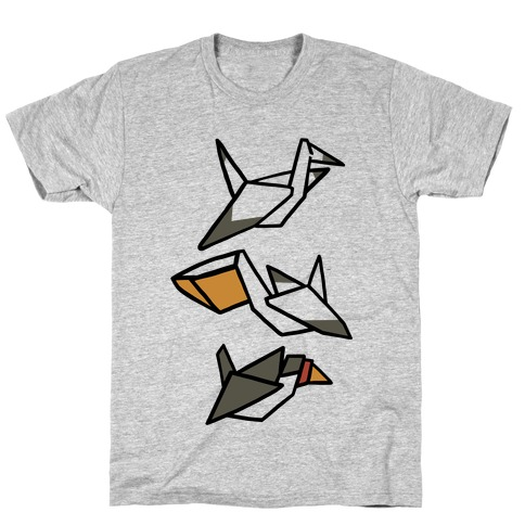 Nautical Origami Seabirds T-Shirt