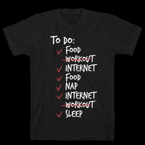 Life's Little Plans Mens T-Shirt