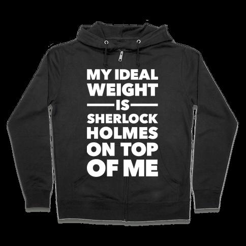 Ideal Weight (Sherlock Holmes) Zip Hoodie