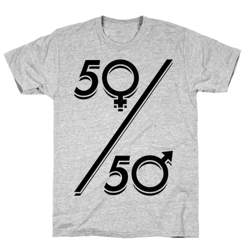50/50 Mens T-Shirt