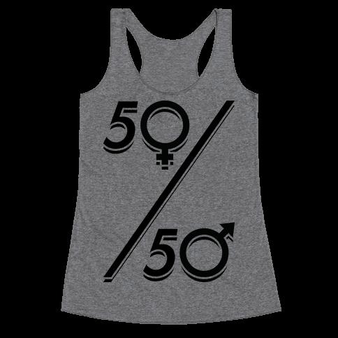 50/50 Racerback Tank Top
