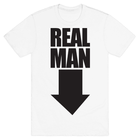 Real Man (Workaholics Edition) Mens T-Shirt