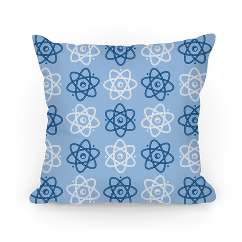 Atom Pattern Pillow