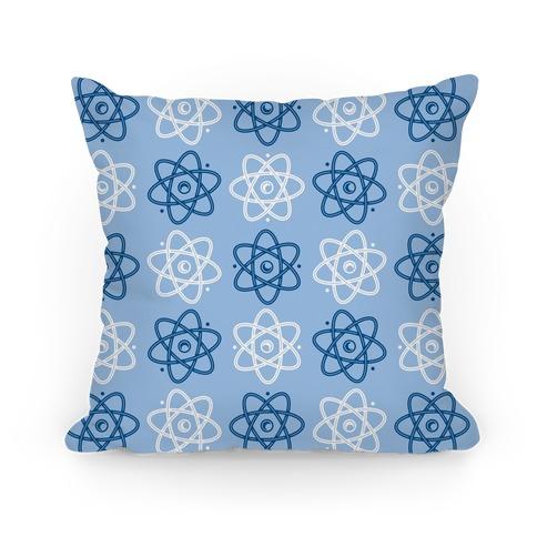Atom Pattern Pillow
