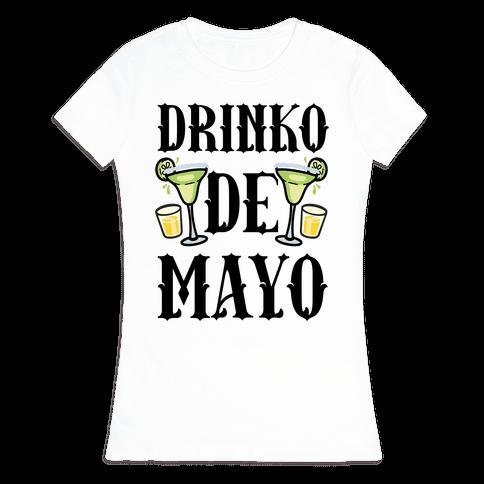 Drinko De Mayo Womens T-Shirt