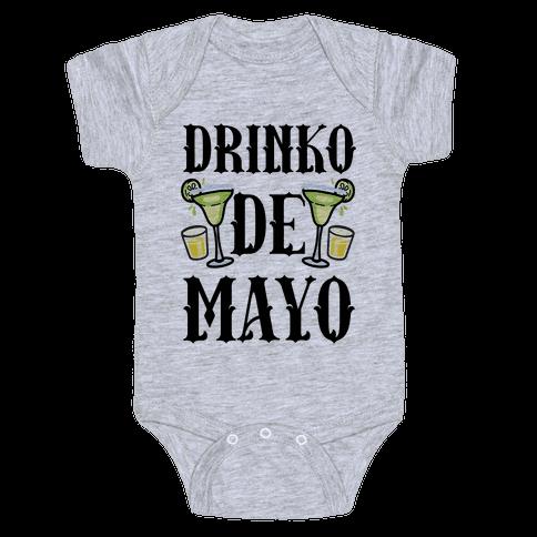 Drinko De Mayo Baby Onesy