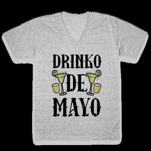 Drinko De Mayo V-Neck Tee Shirt