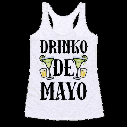 Drinko De Mayo Racerback Tank Top