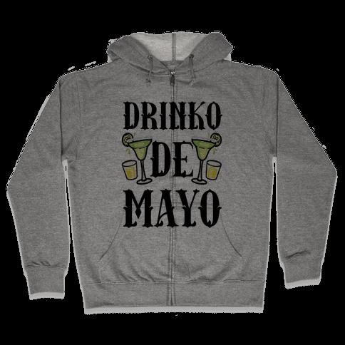Drinko De Mayo Zip Hoodie