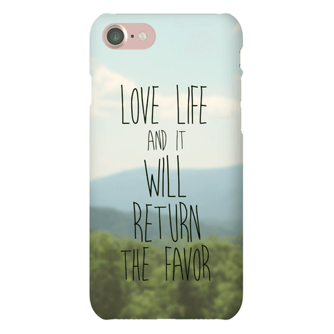 Love Life Phone Case