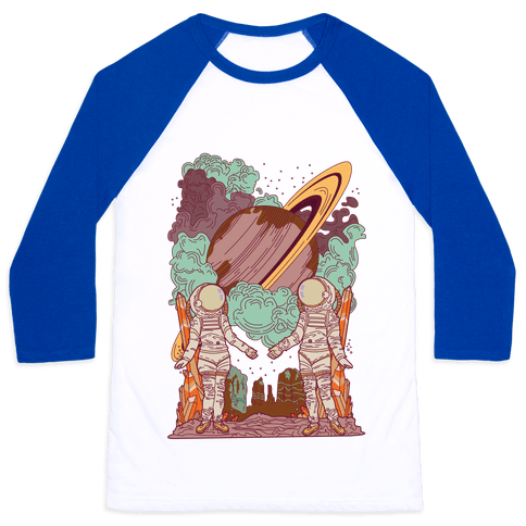 The Lovers in Space Baseball Tee