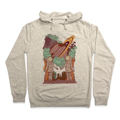 7825aa5e The Lovers in Space Hoodie. Pullover ...