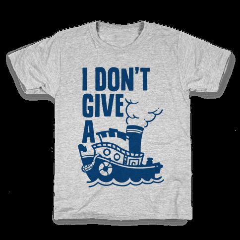 I Don't Give a Ship Kids T-Shirt