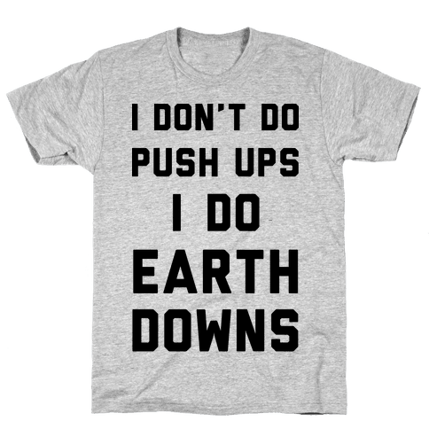 Earth Downs Mens T-Shirt