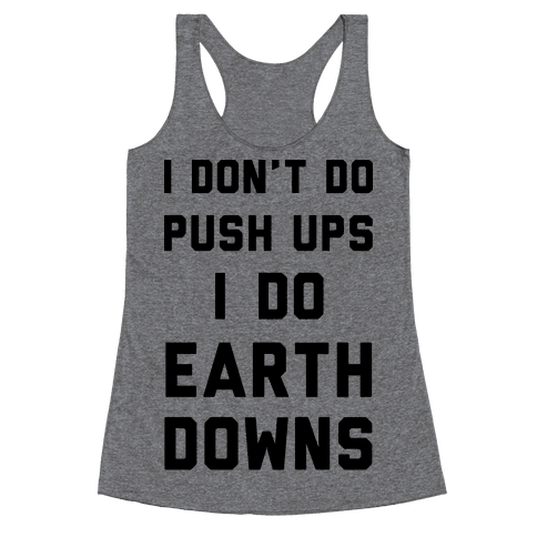 Earth Downs Racerback Tank Top