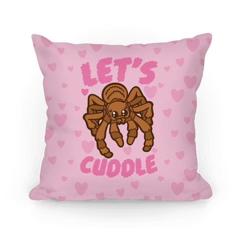 Let's Cuddle Tarantula Pillow