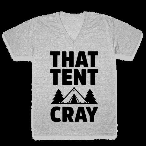 That Tent Cray V-Neck Tee Shirt