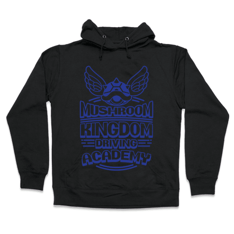 Mushroom Kingdom Driving Academy Hooded Sweatshirt