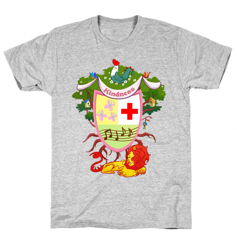Pony of Kindness Medieval Crest Mens T-Shirt